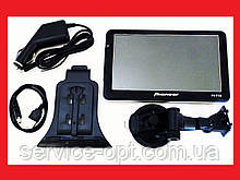 "7"" GPS навігатор Pioneer 718 - 8Gb / 800MHz / 256Mb / IGO + Navitel + CityGuide"