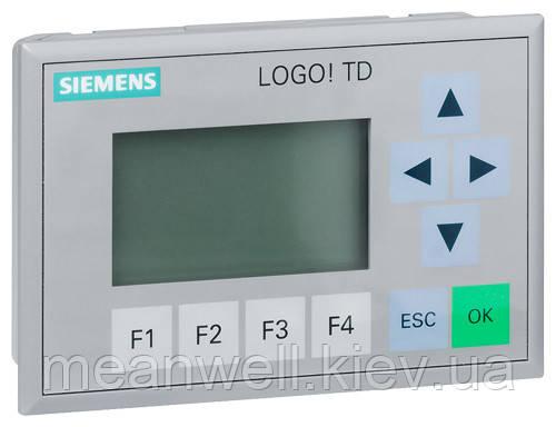 6ED1055-4MH00-0BA0 LOGO! TD Текстовый дисплей Siemens LOGO TD