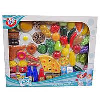 Наборы продуктов, фрукты, овощи разрезные