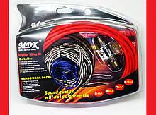 Набір проводів для підсилювача / сабвуфера MDK 8GA