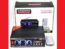 Підсилювач BM AUDIO BM-700BT USB Блютуз 300W+300W 2х канальний