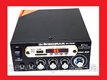 Підсилювач звуку BM AUDIO BM-800BT FM USB 2x300W Блютуз + Караоке