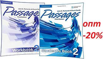 Английский язык / Passages / Student's+Workbook. Учебник+Тетрадь (комплект), 2 / Cambridge