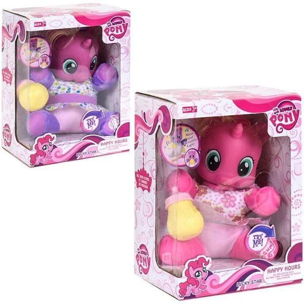 """М'яка іграшка """"Поні"""" функціональна (My Lіttle Pony) ФІОЛЕТОВА арт. 66211/66212"""
