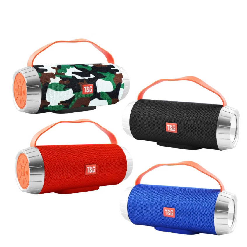 Беспроводная Bluetooth колонка SPS UBL TG501 Переносная портативная Usb Speaker акустика с радио С фонариком