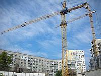 Монтаж башенного крана Eurogru 6320 / 5725 / 5130