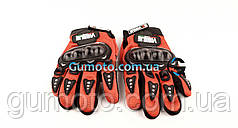 Мотоперчатки Virtue красные size L