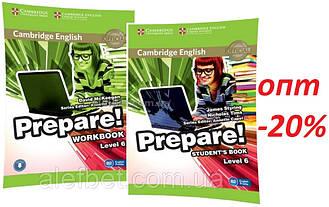 Английский язык / Prepare / Student's+Workbook. Учебник+Тетрадь (комплект), 6 / Cambridge