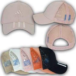 ОПТ Детская кепка с сеткой и логотипом для девочки, 52-54 р. (5шт/упаковка)