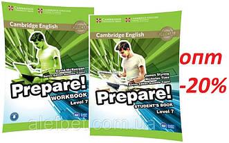 Английский язык / Prepare / Student's+Workbook. Учебник+Тетрадь (комплект), 7 / Cambridge