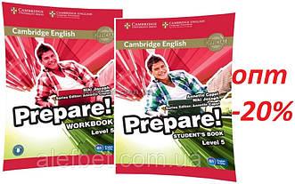 Английский язык / Prepare / Student's+Workbook. Учебник+Тетрадь (комплект), 5 / Cambridge