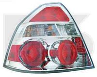 Фонарь задний левый прозрачно-красный (тюнинг) Авео/ Aveo 06-12 седан Т250