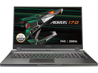 "GIGABYTE AORUS 17G - 17.3"" 300 Hz - Intel Core i7-10870H - NVIDIA GeForce RTX 3080 Laptop GPU 8 GB"