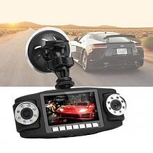 Автомобильный видеорегистратор двухкамерный 2.7 TFT HD