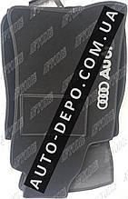 Ворсовые коврики Audi A4 B6, Тканевыке коврик для Ауди А4 Б6 2000- МКП VIP ЛЮКС АВТО-ВОРС