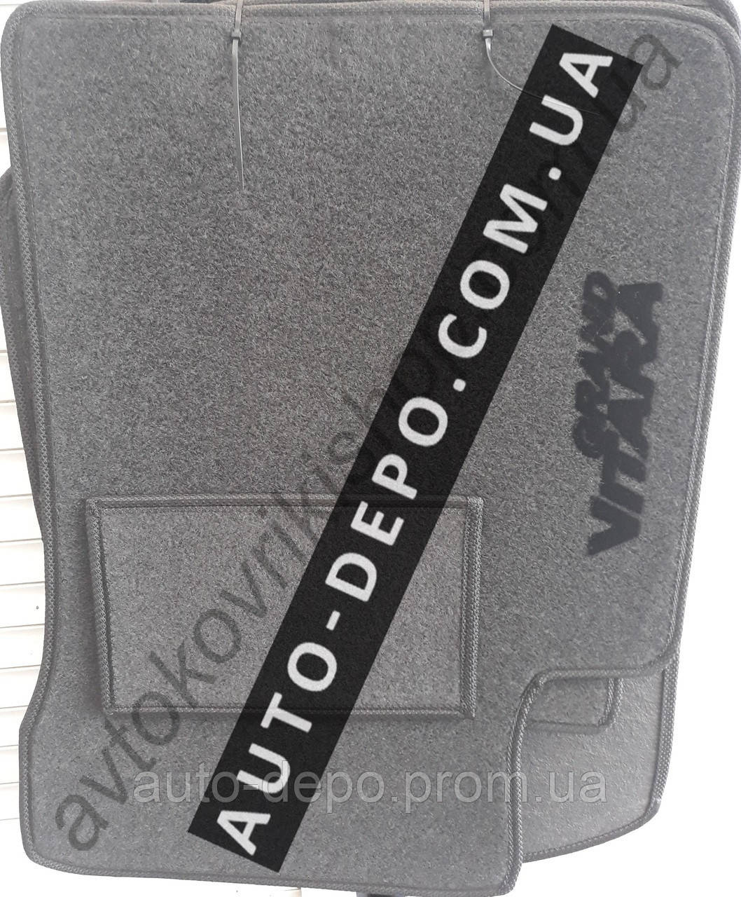 Ворсовые коврики Suzuki Grand Vitara 1997- VIP ЛЮКС АВТО-ВОРС