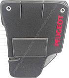 Ворсові килимки салону Peugeot Bipper 2008- (вантажівка) VIP ЛЮКС АВТО-ВОРС, фото 2