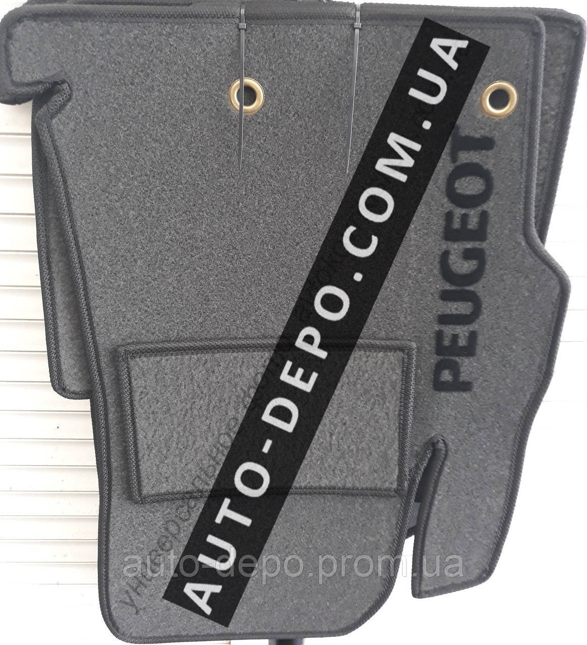 Ворсовые коврики салона Peugeot Partner 2008- VIP ЛЮКС АВТО-ВОРС