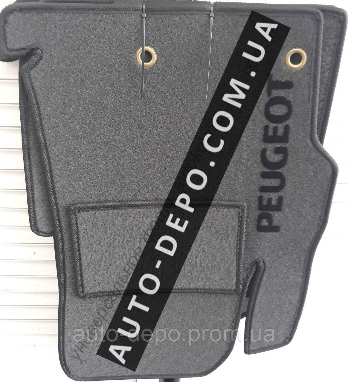 Ворсовые коврики салона Peugeot Partner 2002-2008 VIP ЛЮКС АВТО-ВОРС