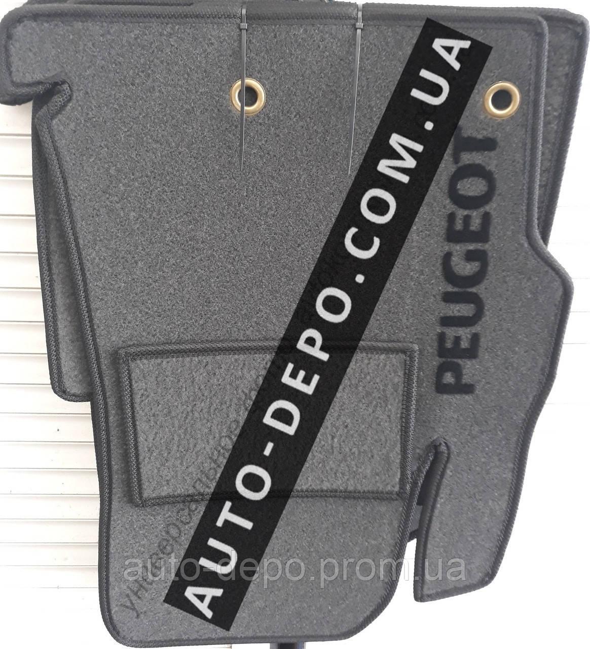 Ворсовые коврики салона Peugeot 206 1998- VIP ЛЮКС АВТО-ВОРС