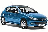 Ворсові килимки салону Peugeot 206 1998 - VIP ЛЮКС АВТО-ВОРС, фото 10