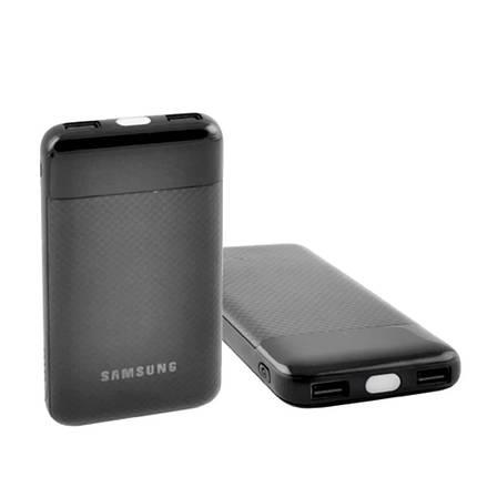 Универсальный мобильный Power Bank Samsung 20000mAh Портативная зарядная батарея для телефона с фонариком, фото 2