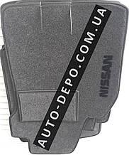 Ворсовые коврики Nissan Micra 5-дверей (K13) 2013- VIP ЛЮКС АВТО-ВОРС