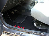 Ворсовые коврики Nissan Micra 5-дверей (K13) 2013- VIP ЛЮКС АВТО-ВОРС, фото 6