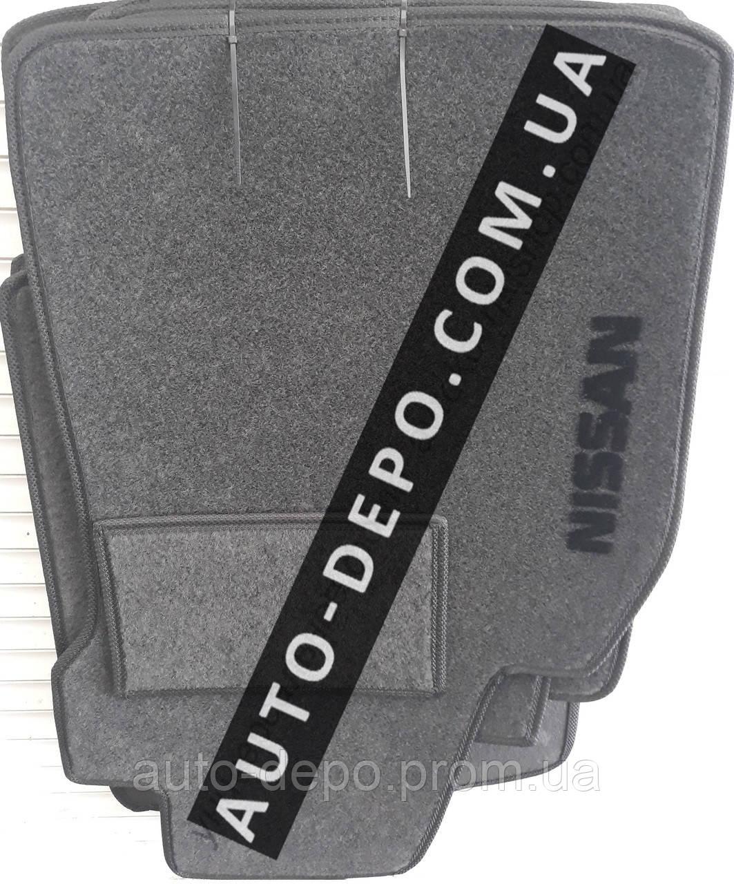 Ворсовые коврики Nissan Juke 2010- VIP ЛЮКС АВТО-ВОРС