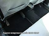 Ворсовые коврики Mercedes-Benz Sprinter W901-905 2000-2006 VIP ЛЮКС АВТО-ВОРС, фото 8
