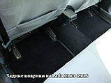 Ворсовые коврики Mercedes-Benz S-Class W220 Long 4 matic 1998-2005 VIP ЛЮКС АВТО-ВОРС, фото 9