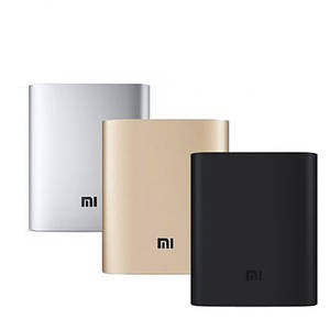 Универсальный мобильный Power Bank MI 10400 mAh Внешнее зарядное устройство для телефона с индикатором заряда
