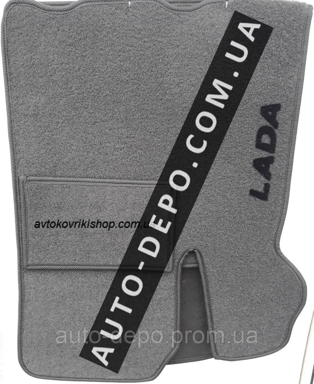 Ворсовые коврики Lada Priora 2007- VIP ЛЮКС АВТО-ВОРС