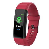 Фитнес браслет трекер Smart Band ID115 plus, Умные спортивные смарт часы для здоровья с тонометром, шагомером