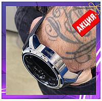 Смарт часы умные Smart Watch Max Robotics ZX-01 Гибрид механика и электроника, мужские серебро, фитнесс трекер