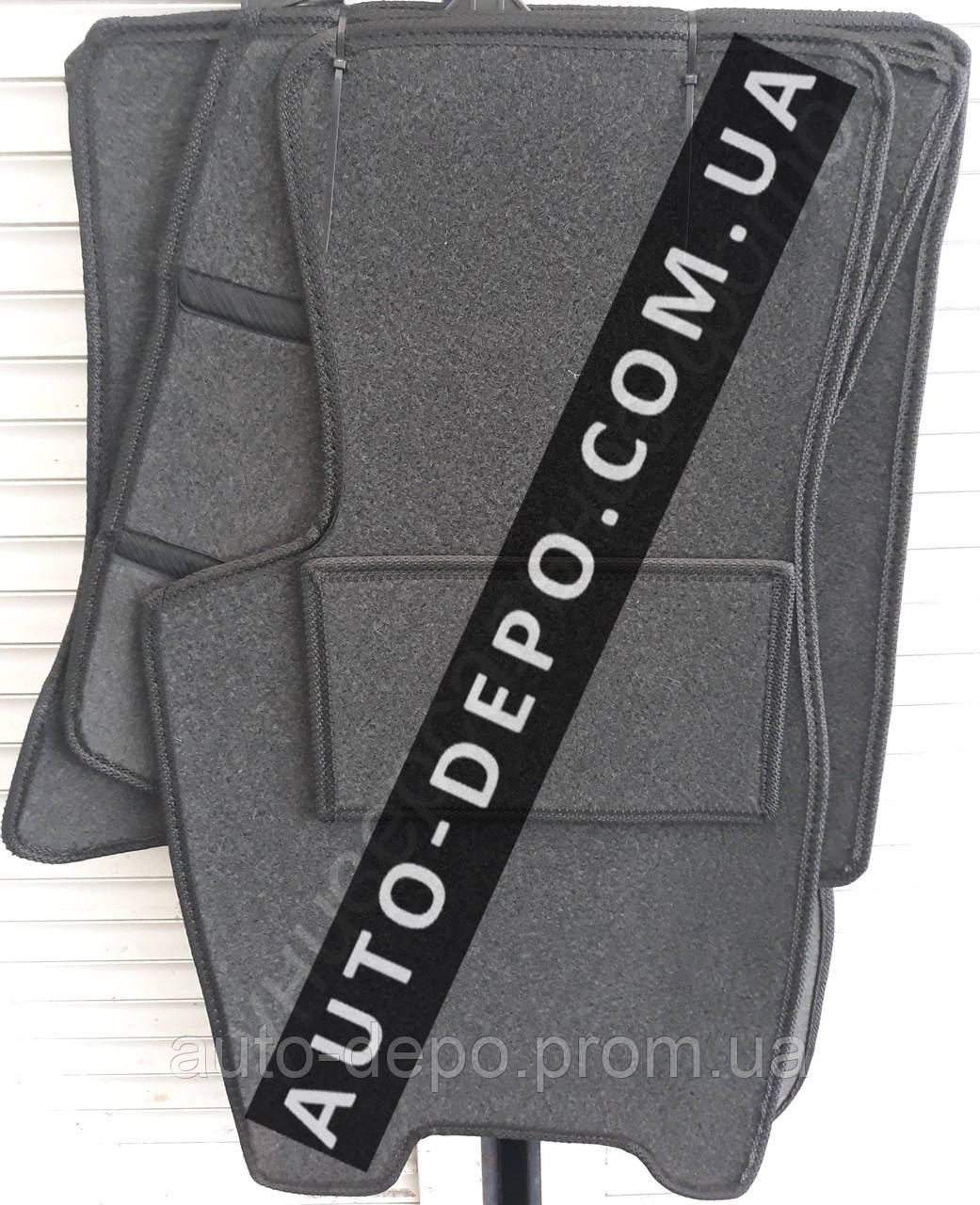 Ворсові килимки Jeep Grand Cherokee 1998-2005 VIP ЛЮКС АВТО-ВОРС