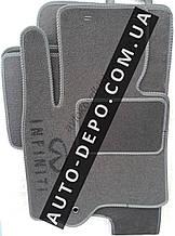 Ворсовые коврики Infiniti FX45 (S51) 2008- АКПП VIP ЛЮКС АВТО-ВОРС