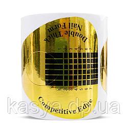 Форми для нарощування жовті, 100 шт