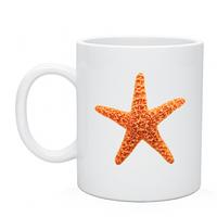 Чашка- Кружка изображение морская звезда