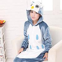 Детская пижама Кигуруми Сова S (на рост 148-158см)