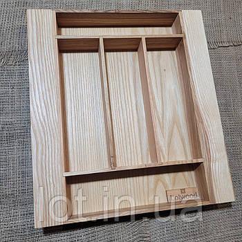 Лоток для столовых приборов L268-358.400 ясень