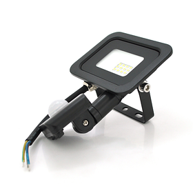 Прожектор с датчиком движения SLIM SENSOR LED RITAR RT-FLOOD/MS10A, 10Вт 220В