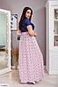 Женское Платье в пол 50-52, 54-56, 58-60, 62-64, фото 2