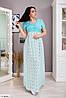 Женское Платье в пол 50-52, 54-56, 58-60, 62-64, фото 3