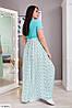 Женское Платье в пол 50-52, 54-56, 58-60, 62-64, фото 4