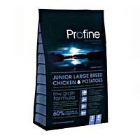 Profine Junior Large Breed Chicken and Potatoes корм для молодых собак крупных пород 15 кг