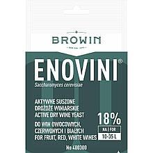 Дрожжи винные сухие ENOVINI, 7 г BROWIN Польша