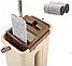 Швабра микрофибра с отжимом + ведро Scratch Cleaning Mop | Швабра лентяйка cleaner 360, фото 5
