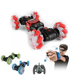 Трюкова машинка перевертиш Hyper Skidding Дитяча іграшка всюдихід на радіокеруванні жестами Світиться