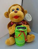 Мягкая игрушка Обезьяна-Копилка + код MKX-97463